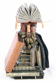 The Librarian Man Made of Books Statue by Arcimboldo