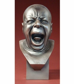 The Yawner Man Portrait Bust by Messerschmidt