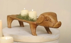 Treen Reproduction Small Pig Tray