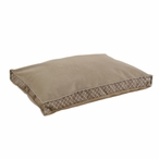 Venture Diamond Mocha Seamed Pet Bed