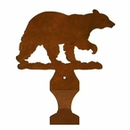 Walking Bear Metal Drape Rod Holders