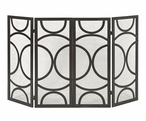 Winnoa Iron Fireplace Screen