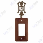 Yei Single Rocker Metal Switch Plate Cover
