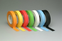 "1/2"" Colored Pro Console Label Tape - Case of 72 Rolls (6 Colors)"