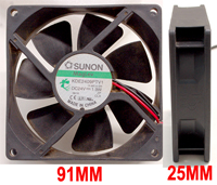 24V DC MEDIUM HEAD FAN FOR DESIGN SPOT 250P
