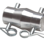 Conical Connector with 2 Cotter Pins & R-Clips