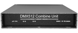 DMX Isolated Combine Unit - 4 Input / 1 Output