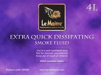 Extra Quick Dissipating Fog Fluid - Case of Four 4L Bottles