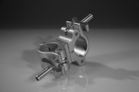 Mega 90 Degree Coupler - Aluminum Finish