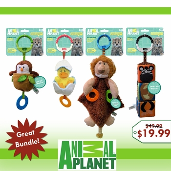 Animal Planet 4 Toy Holiday Bundle