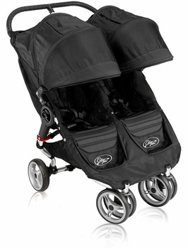 Baby Jogger City Mini Double 2011 Black