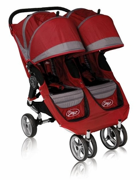 Baby Jogger City Mini Double 2011 Crimson