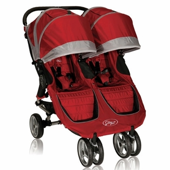 Baby Jogger City Mini Double 2013 Stroller Crimson