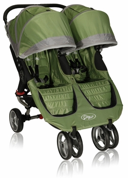 Baby Jogger City Mini Double 2013 Stroller Green