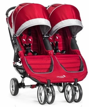 Baby Jogger City Mini Double 2014 Red