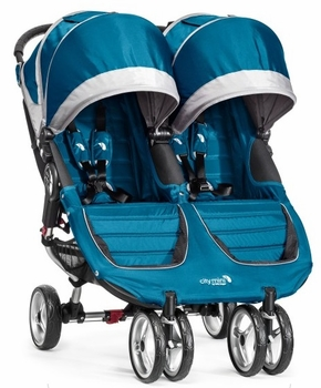 Baby Jogger City Mini Double 2014 Teal