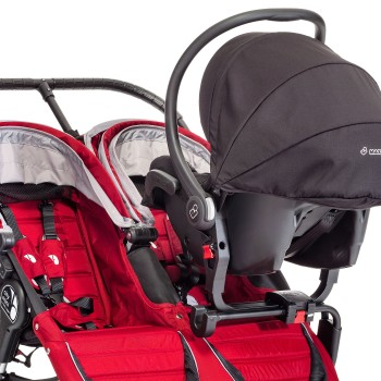 Baby Jogger City Mini, GT, Summit x3 Double Car Seat Adapter