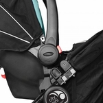 Baby Jogger City Mini, GT, Elite, Summit, & FIT Single Car Seat Adapter Graco Click-Connect