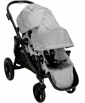 Baby Jogger City Select Double Silver Special Edition