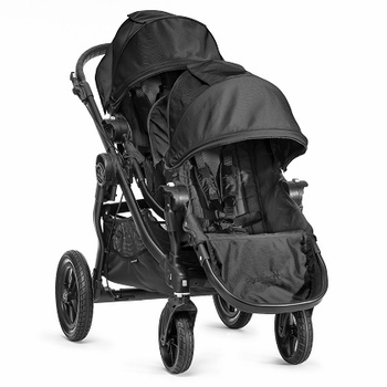 Baby Jogger City Select Double 2014 All Black