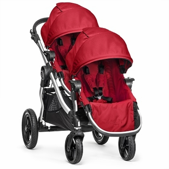 Baby Jogger City Select Double 2015 Ruby