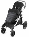 Baby Jogger City Versa Footmuff Black