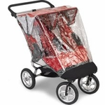 Baby Jogger Elite Stroller Double Rain Shield