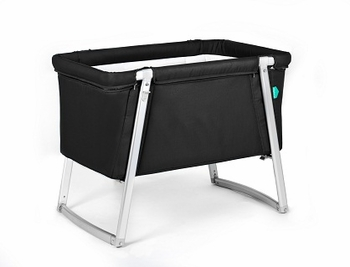 Babyhome Dream Baby Crib Black