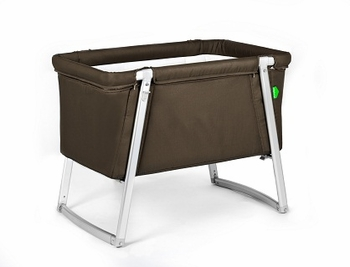 Babyhome Dream Baby Crib Brown