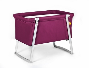 Babyhome Dream Baby Crib Purple