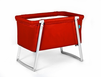 Babyhome Dream Baby Crib Red