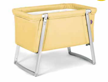 BabyHome Dream Cot Yellow