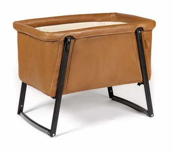BabyHome Dream Baby Crib Premium Leather