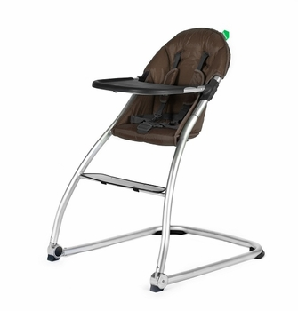 Babyhome Eat High Chair Brown