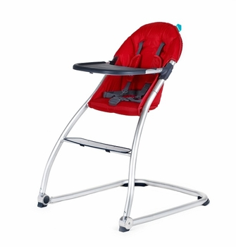 Babyhome Eat High Chair Red