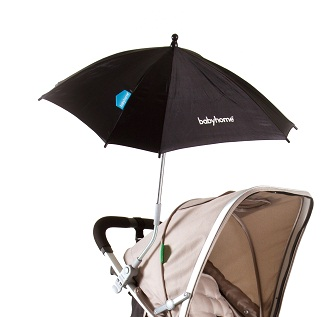 Babyhome Emotion Sun Umbrella Black