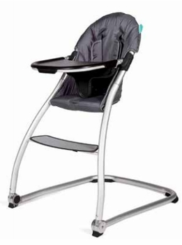 BabyHome Taste High Chair Dark Grey