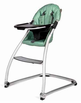 BabyHome Taste High Chair Leaf