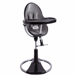 Bloom Fresco Chrome High Chair Black