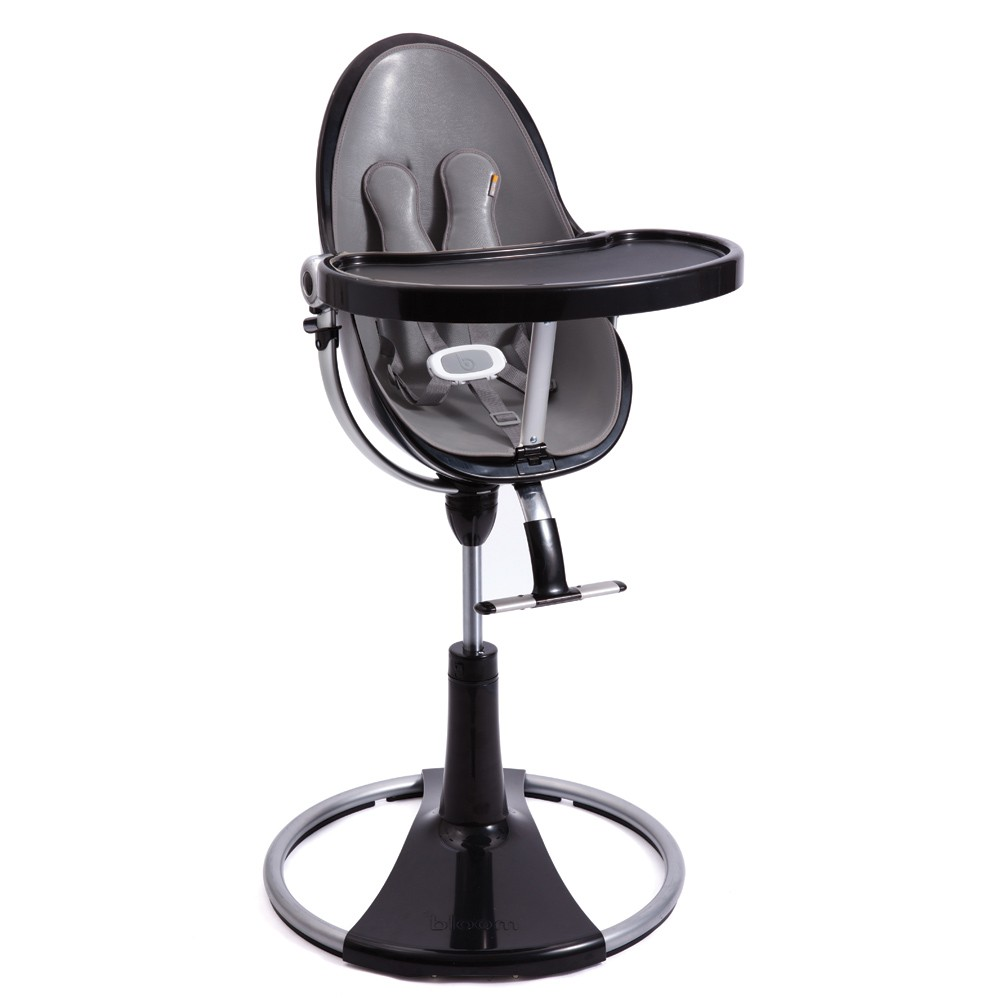 Bloom high chair chrome - Bloom Fresco Chrome High Chair Black