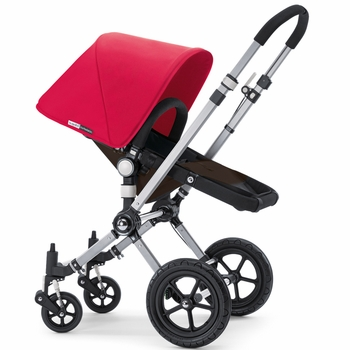 Bugaboo Cameleon 2012 Dark Brown w Coral Red