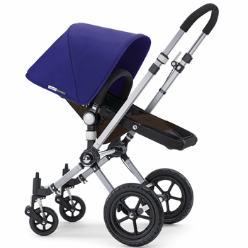 Bugaboo Cameleon 2012 Dark Brown w Electric Blue