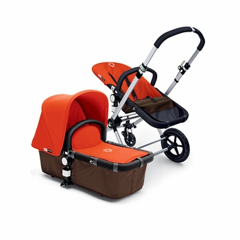 Bugaboo Cameleon 2012 Dark Brown w Orange