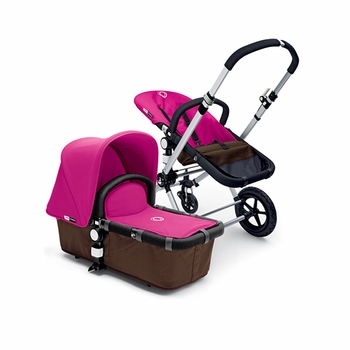 Bugaboo Cameleon 2012 Dark Brown w Pink