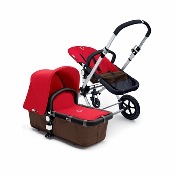 Bugaboo Cameleon 2012 Dark Brown w Red
