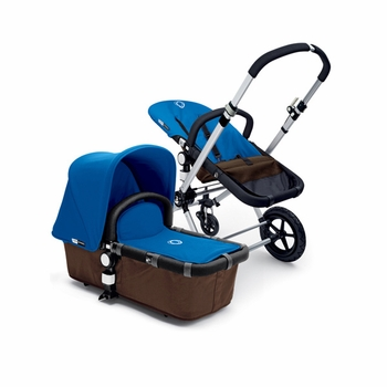 Bugaboo Cameleon 2012 Dark Brown w Royal Blue