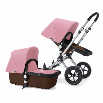 Bugaboo Cameleon 2012 Dark Brown w Soft Pink