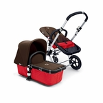 Bugaboo Cameleon 2012 Red w Dark Brown