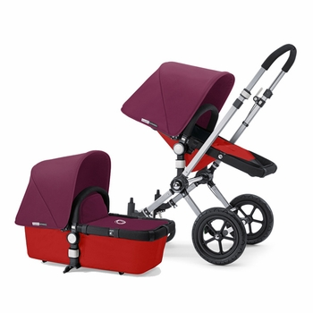 Bugaboo Cameleon 2012 Red w Deep Purple