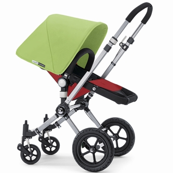 Bugaboo Cameleon 2012 Red w Light Green